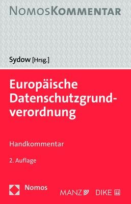 Europäische Datenschutzgrundverordnung | Sydow, 2018 | Buch (Cover)