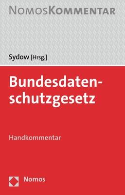 Bundesdatenschutzgesetz   Sydow (Hrsg.), 2019   Buch (Cover)