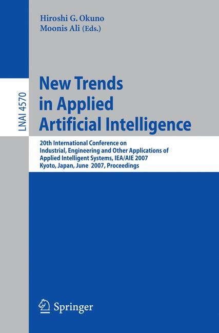 New Trends in Applied Artificial Intelligence | Okuno / Ali, 2007 | Buch (Cover)
