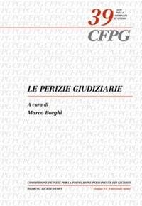 Le perizie giudiziarie | Borghi | Buch (Cover)