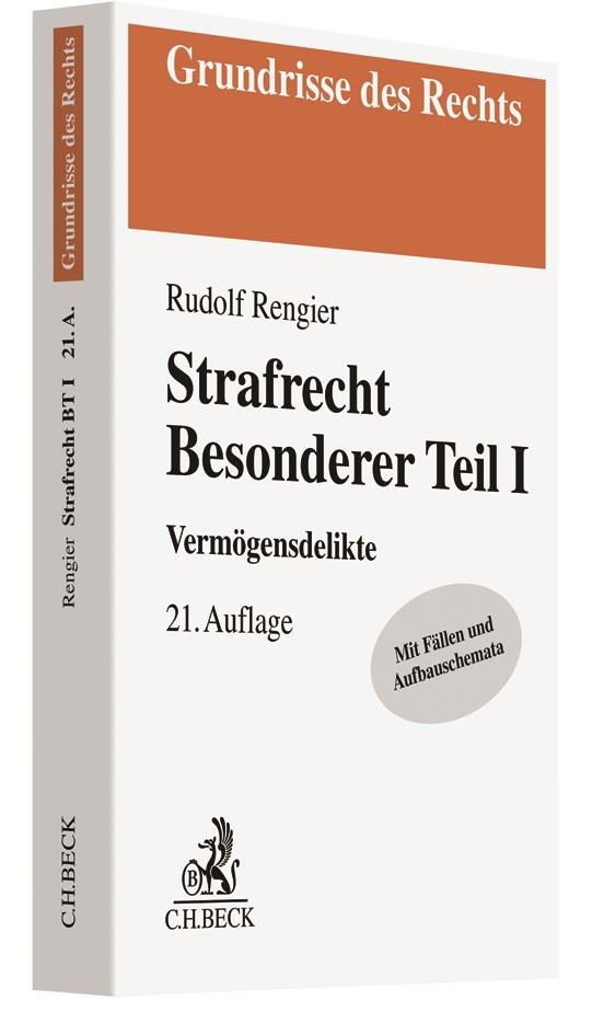 Strafrecht Besonderer Teil I | Rengier | 21. Auflage, 2019 | Buch (Cover)