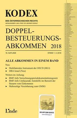 Abbildung von Herdin-Winter / Doralt / Schmidjell-Dommes | KODEX Doppelbesteuerungsabkommen 2018 | 16. Auflage 2018, Stand 1.3.2018 | 2018
