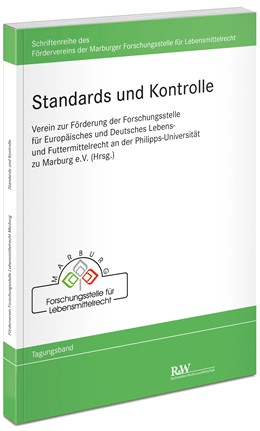 Abbildung von Standards und Kontrolle | 1., Auflage 2018 | 2018 | Schriftenreihe des Förderverei... | 2