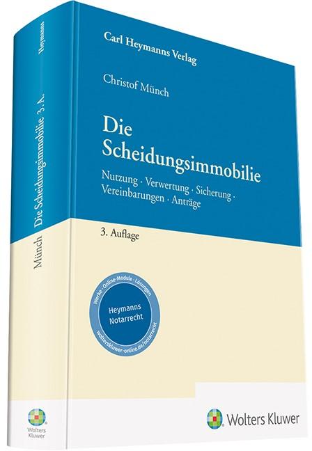 Die Scheidungsimmobilie | Münch | 3. Auflage, 2018 | Buch (Cover)