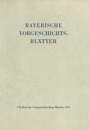 Bayerische Vorgeschichtsblätter 2018, 2019 | Buch (Cover)