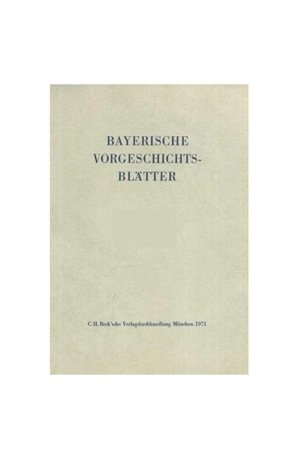 Cover: , Bayerische Vorgeschichtsblätter 2018
