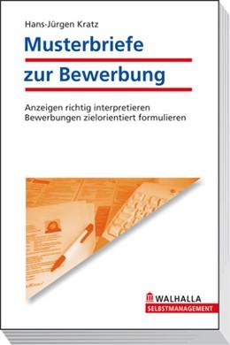 Abbildung von Kratz | Musterbriefe zur Bewerbung | 16. Auflage | 2008 | beck-shop.de