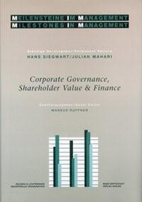 Corporate Governance, Shareholder Value & Finance | Siegwart / Mahari | Buch (Cover)