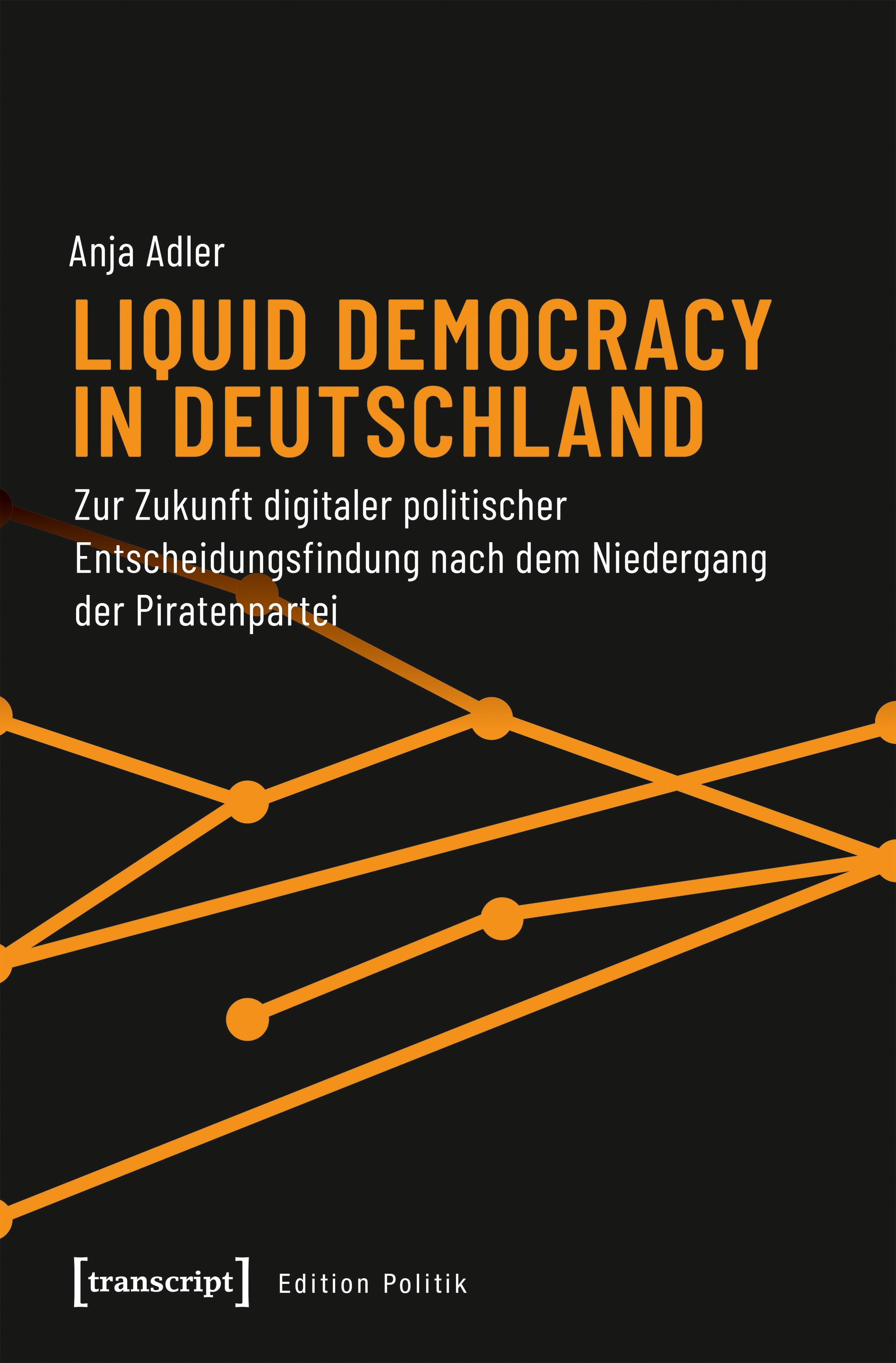 Liquid Democracy in Deutschland | Adler, 2018 | Buch (Cover)