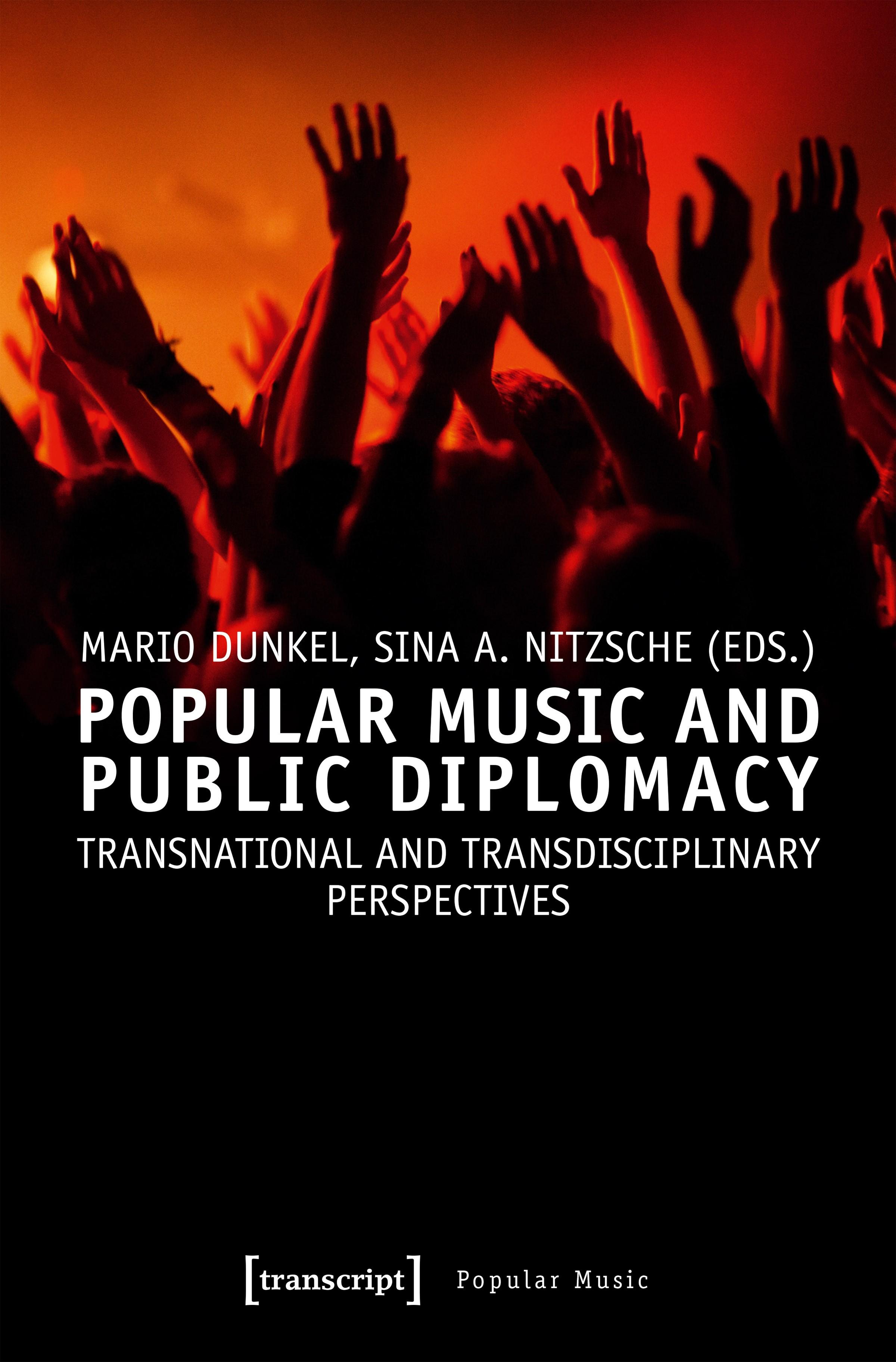 Popular Music and Public Diplomacy | Dunkel / Nitzsche, 2018 | Buch (Cover)