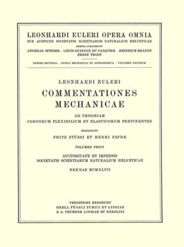 Abbildung von Euler / Fleckenstein   Commentationes mechanicae. Principia mechanica   1957   Principia mechanica   2 / 5