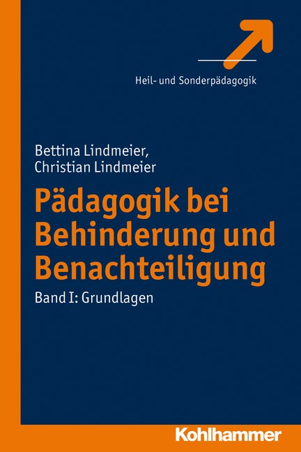 Einführung in die Pädagogik bei Behinderungen und Benachteiligungen | Lindmeier, 2012 | Buch (Cover)