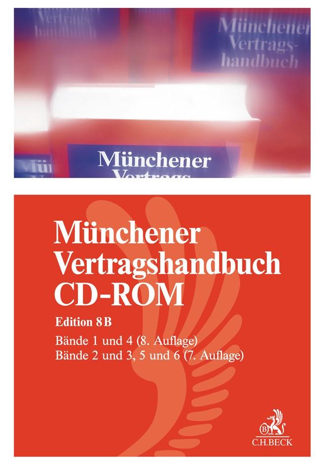 Münchener Vertragshandbuch Gesamt-CD-ROM | Edition 8B, 2018 (Cover)