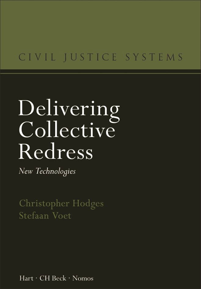 Delivering Collective Redress | Hodges / Voet, 2019 | Buch (Cover)