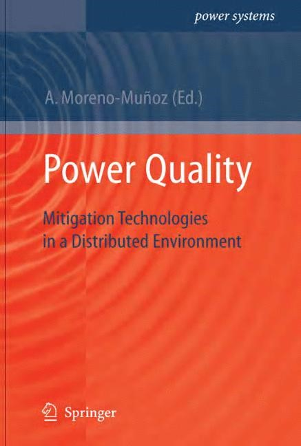 Power Quality | Moreno-Muñoz | 1st Edition., 2007 | Buch (Cover)