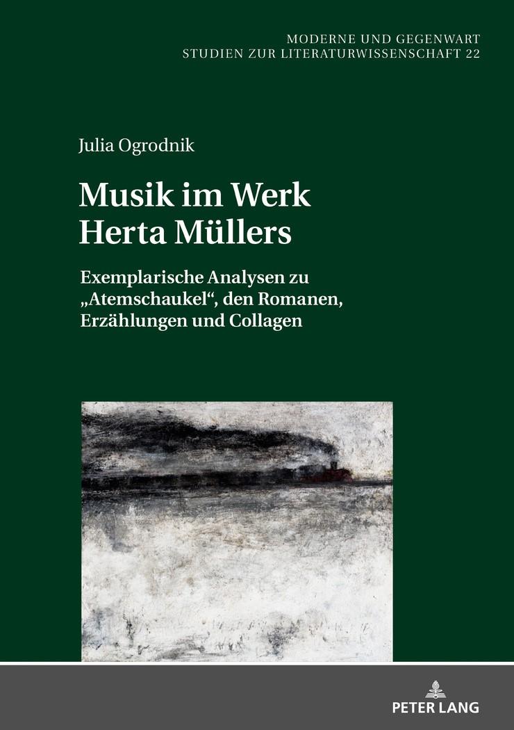 Musik im Werk Herta Müllers   Ogrodnik, 2018   Buch (Cover)