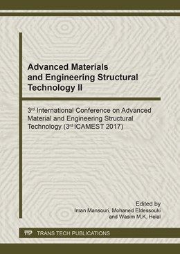 Abbildung von Mansouri / Eldessouki / Helal | Advanced Materials and Engineering Structural Technology II | 2018 | 3rd International Conference o... | Volume 1145