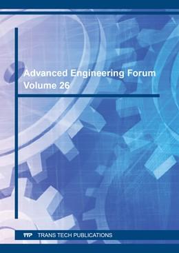 Abbildung von Advanced Engineering Forum Vol. 26 | 2018 | Volume 26