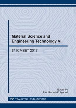 Abbildung von Agarwal | Material Science and Engineering Technology VI | 1. Auflage | 2018 | Volume 917 | beck-shop.de
