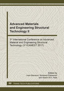 Abbildung von Mansouri / Eldessouki / Helal | Advanced Materials and Engineering Structural Technology II | 2018 | 3rd International Conference o... | Volume 1145