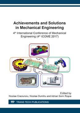 Abbildung von Craciunoiu / Dumitru | Achievements and Solutions in Mechanical Engineering | 1. Auflage | 2018 | Volume 880 | beck-shop.de