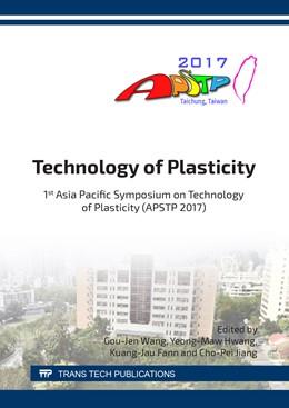 Abbildung von Wang / Hwang   Technology of Plasticity   1. Auflage   2018   Volume 920   beck-shop.de