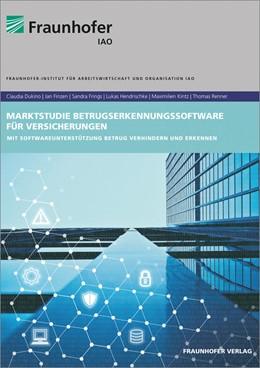 Abbildung von Dukino / Finzen   Marktstudie Betrugserkennungssoftware für Versicherungen.   1. Auflage   2018   beck-shop.de