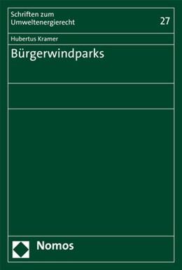 Abbildung von Kramer | Bürgerwindparks | 2018