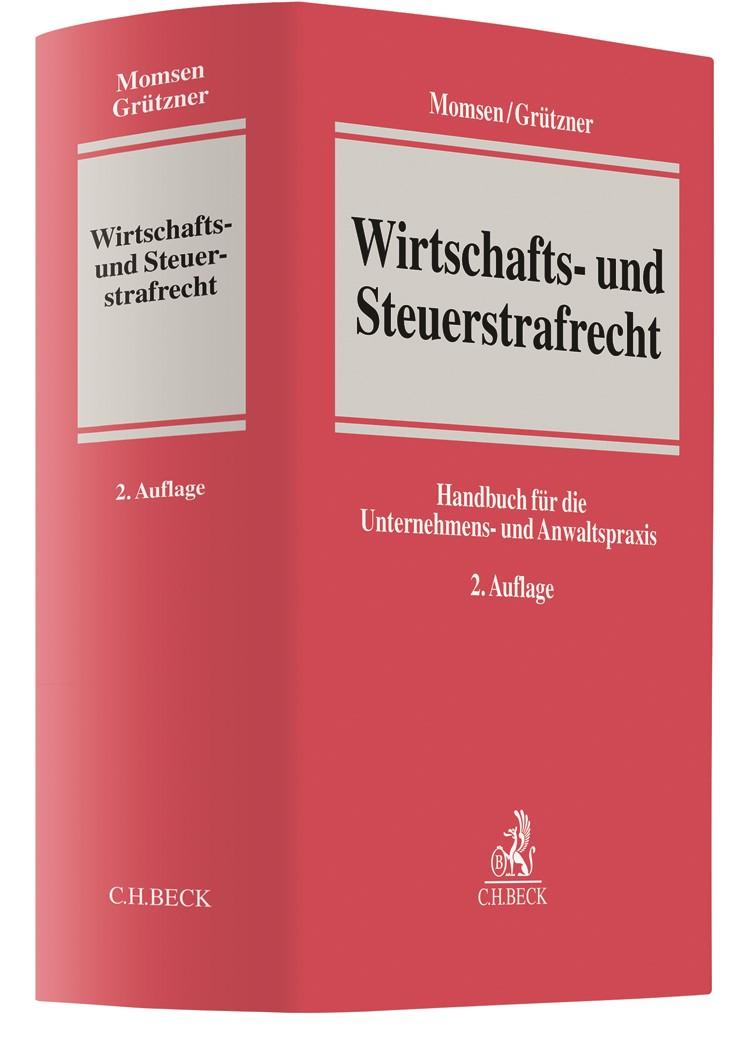 Wirtschafts- und Steuerstrafrecht | Momsen / Grützner | 2. Auflage, 2019 | Buch (Cover)