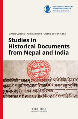 Abbildung von Cubelic / Michaels | Studies in Historical Documents from Nepal and India | 1. Auflage | 2018 | beck-shop.de
