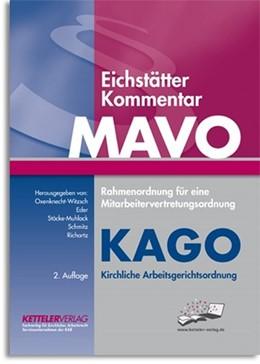 Abbildung von Oxenknecht-Witzsch / Eder   Eichstätter Kommentar MAVO & KAGO, Print + Online-Zugang (Code im Buch eingedruckt).   2. Auflage   2018   beck-shop.de