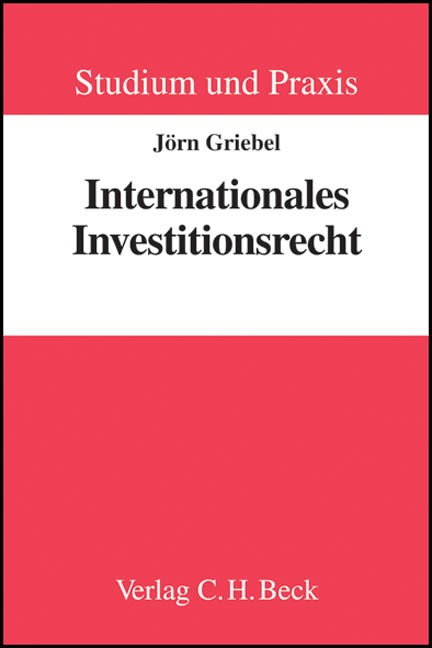 Internationales Investitionsrecht | Griebel | Buch (Cover)