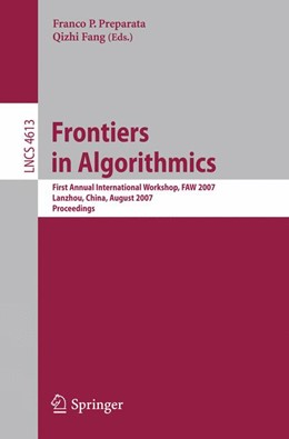 Abbildung von Preparata / Fang   Frontiers in Algorithmics   1. Auflage   2007   beck-shop.de