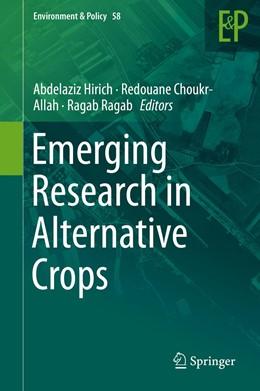 Abbildung von Hirich / Choukr-Allah / Ragab | Emerging Research in Alternative Crops | 1st ed. 2020 | 2020 | 58