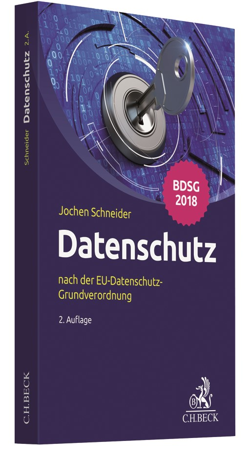 Datenschutz | Schneider | 2. Auflage, 2018 | Buch (Cover)