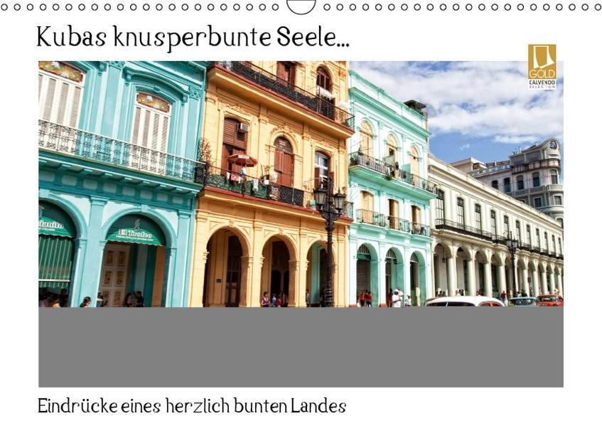 Kubas knusperbunte Seele... (Wandkalender 2019 DIN A3 quer) | Abel | 5. Edition 2014, 2018 (Cover)