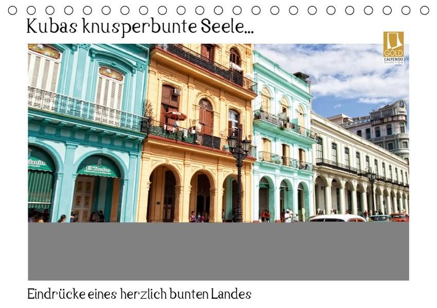 Kubas knusperbunte Seele... (Tischkalender 2019 DIN A5 quer) | Abel | 5. Edition 2014, 2018 (Cover)