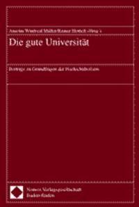 Die gute Universität | Müller / Hettich, 2000 | Buch (Cover)