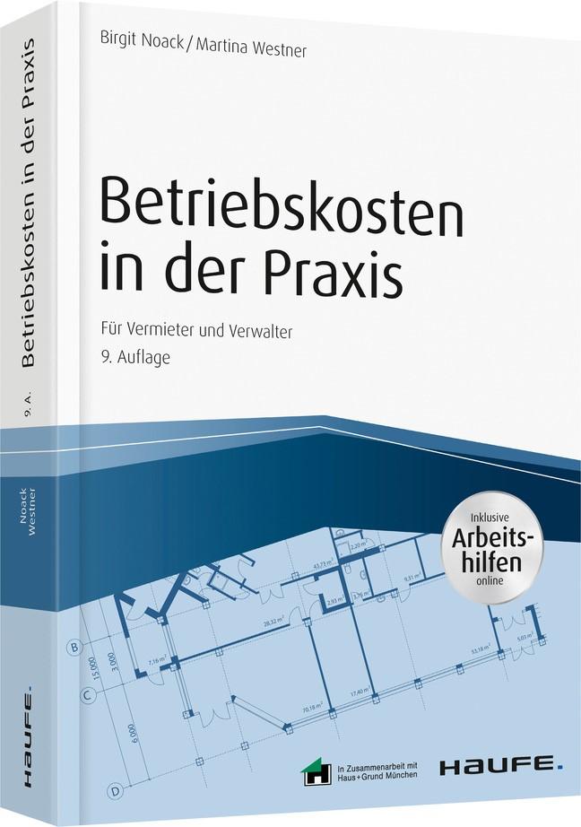 Betriebskosten in der Praxis | Noack / Westner | 9. Auflage, 2018 | Buch (Cover)
