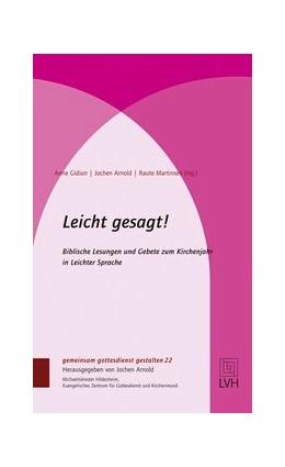 Abbildung von Gidion / Arnold / Martinsen | Leicht gesagt! | 2. Auflage | 2017