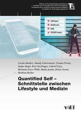 Abbildung von Meidert / Scheermesser / Prieur | Quantified Self - Schnittstelle zwischen Lifestyle und Medizin | 2018