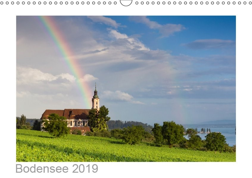 Bodensee 2019 (Wandkalender 2019 DIN A3 quer)   Kalender365. Com   6. Edition 2018, 2018 (Cover)