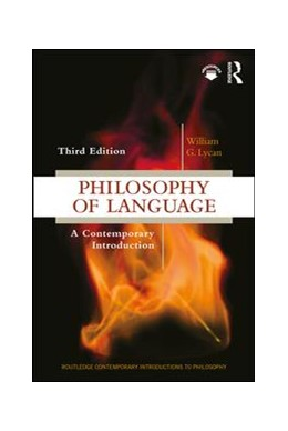 Abbildung von Lycan   Philosophy of Language   3. Auflage   2018   beck-shop.de