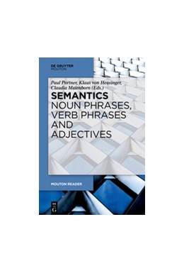 Abbildung von Portner / Heusinger / Maienborn | Semantics - Noun Phrases and Verb Phrases | 2019