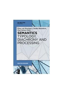 Abbildung von Heusinger / Maienborn / Portner | Semantics - Typology, Diachrony and Processing | 2019