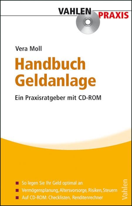 Handbuch Geldanlage | Moll, 2009 (Cover)