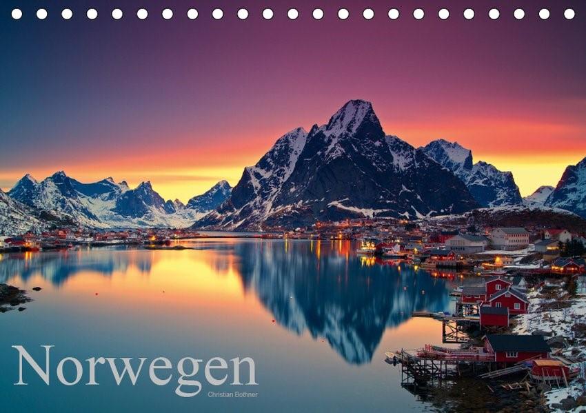 Norwegen (Tischkalender 2019 DIN A5 quer) | Bothner | 6. Edition 2018, 2018 (Cover)