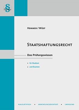 Abbildung von Hemmer / Wüst | Staatshaftungsrecht | 5. Auflage | 2018 | beck-shop.de