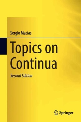 Abbildung von Macías | Topics on Continua | 2. Auflage | 2018 | beck-shop.de
