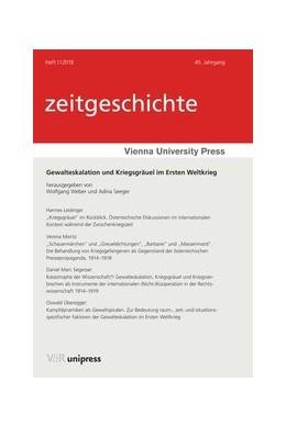 Abbildung von Weber / Seeger   Gewalteskalation und Kriegsgräuel im Ersten Weltkrieg   Aufl.   2018